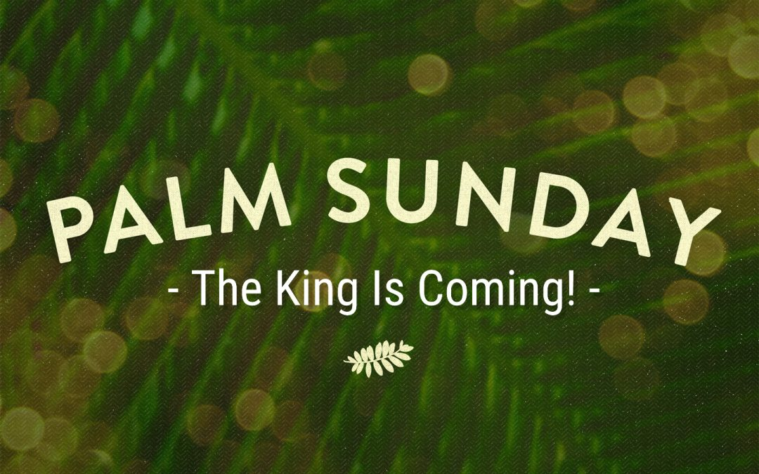THE KING IS COMING! 3-28-2021